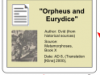 "Vector: ""Orpheus and Eurydice"" —> ""Symposium"""