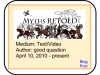 Orpheus and Eurydice –> Myths RETOLD