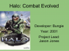 Vector: Aliens -> Halo: Combat Evolved